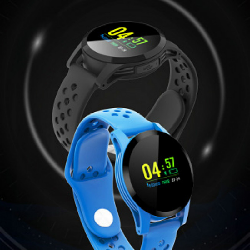 Smart Watch bracelet Sports Fitness Activity heart rate and blood pressure record IP68waterproof band Pedometer for IOS Android
