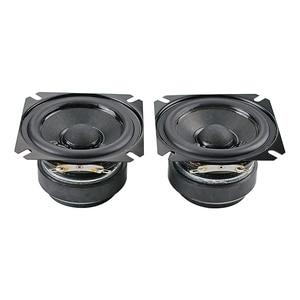 Image 2 - GHXAMP 2.5 inch 4OHM 15W Full Range Speaker Bass Portable Home Theater Desktop Speaker Paper Cone, Rubber edge Human Voice 2PCS