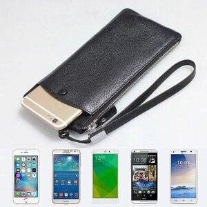 MYL-25W 100% натуральная кожа телефон сумка для iphone X 6s 7 8 Plus 8 Plus XS Max кошелек стиль Универсальный 1,0