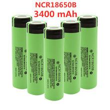 2021 nowy oryginalny NCR18650B 3.7V 3400 mah 18650 akumulator litowy do baterii latarki