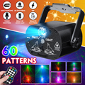 60 режимов звуковая активация вечерние светильник Strobes лазерный светильник usb зарядка 9 Вт RGB светодиодный светильник рождественский дом KTV с...
