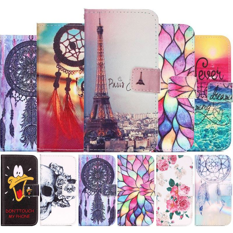 Luxury Case For <font><b>Cover</b></font> <font><b>iPhone</b></font> 7 8 <font><b>6</b></font> 6S Plus 5 5S SE 5C 4 4S 6Plus 7Plus 8Plus Fundas Stand Magetic Flip <font><b>Leather</b></font> Wallet Cases D03E image