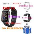 IWO 12 умные часы серии 5 44 мм 30 + watchfaces Siri умные часы для Android IOS телефонов PK iwo 8 9 10