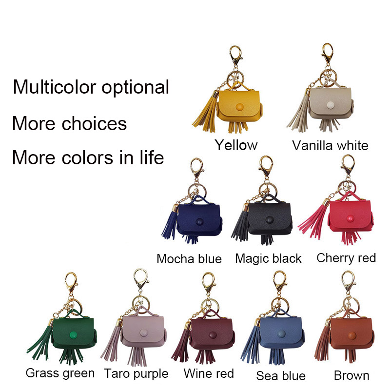 Fringed leather Cover for Airpods Pro 25