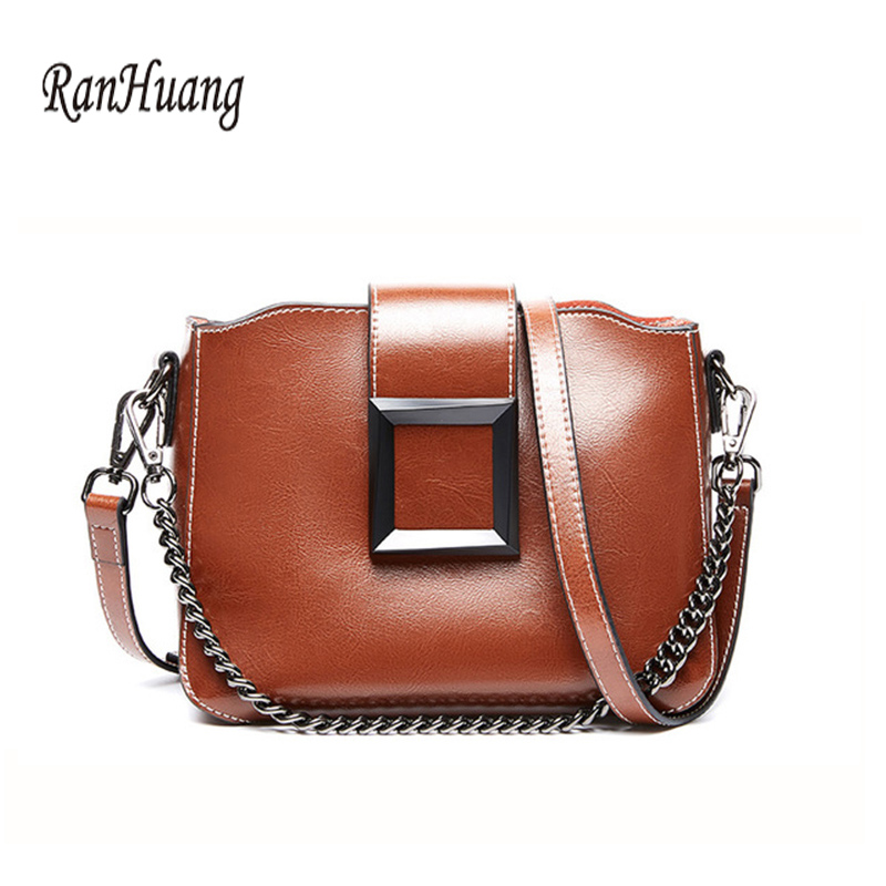 New 2020 Fashion Women's Genuine Leather Handbags Luxury Handbags Ladies Small Shoulder Bags Vintage Messenger Bags Cow Leather