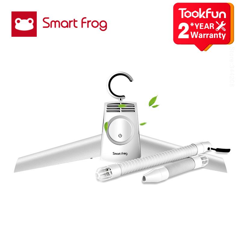 [해외] 2020 Smartfrog 휴대용 의류 건조기 신발 옷 걸이 걸이 접이식 세탁 공중제비 전기 건조기 기계 쉽고 안전한