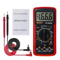Litake digital DT-9205A multímetro lcd ac/dc amperímetro resistência capacitância tester