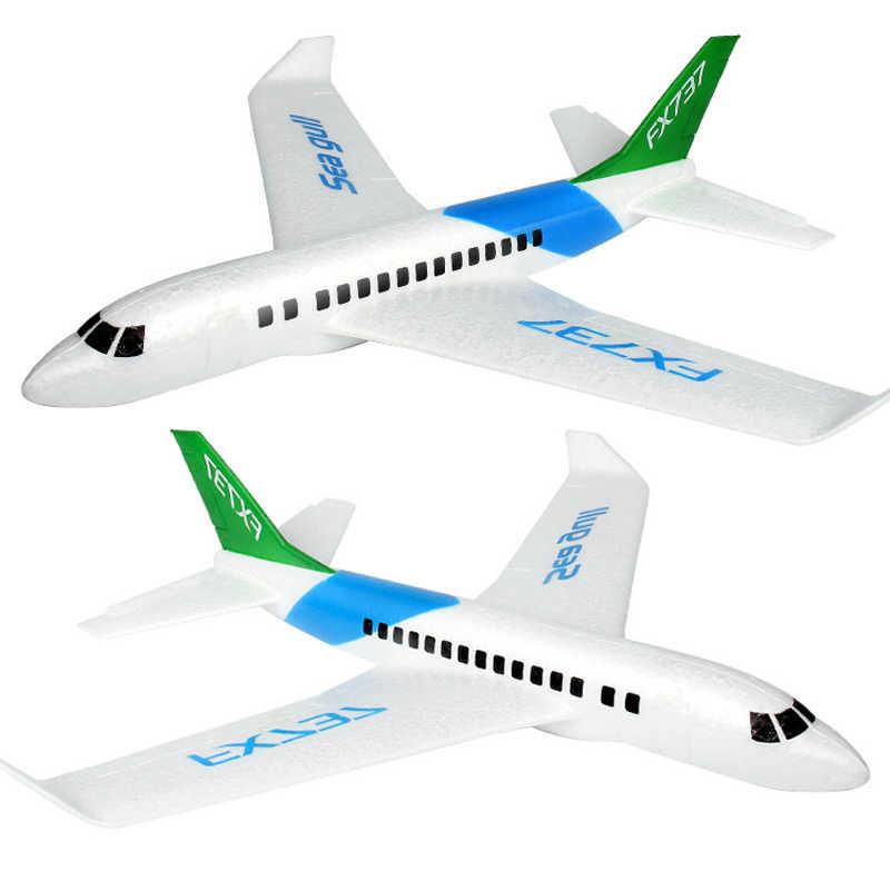 Créatif main jeter EPP Simulation civile Aviation mousse bricolage avion enfants avion jouet assemblage Puzzle Kits fête jeu jouets