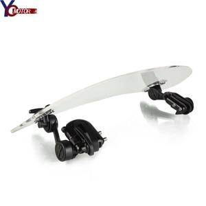 Déflecteur de pare brise réglable | Pour moto, pour SUZUKI GSX650F SV1000/1000S SV650 600/750 KATANA FZ1 FAZER FZ6 |