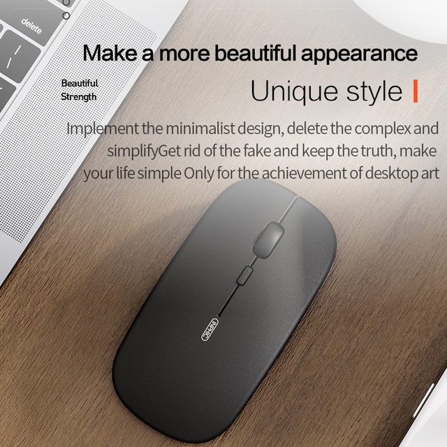 Mute Wireless 5.0 Bluetooth Mouse Office Computer Mouse|Mice|   -