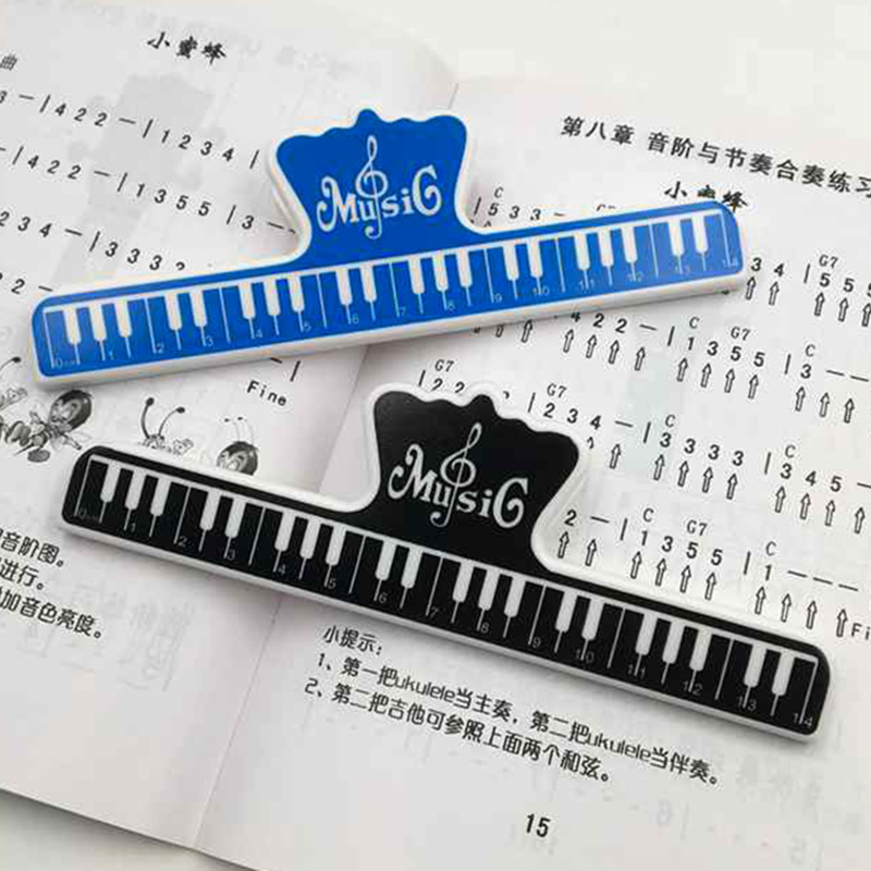 Universal Piano Sheet Music Clip Book Paper Holder For Guitar Violin Musical Instrument Accessories ZJ55