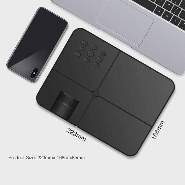 BYINTEK Mini Projector K7 ,1280x720 P,Smart Android Wifi Video Beamer 2
