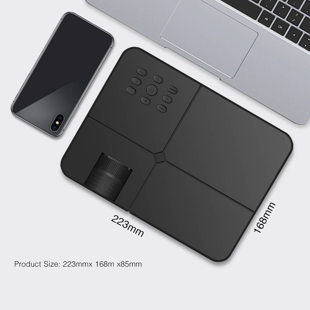 Touyinger X7 мини USB проектор android Wifi светодиодный проектор full hd видео портативный домашний кинотеатр Карманный ТВ кинотеатр видео - 2