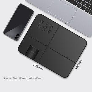 Image 2 - Byintek Mini Projector K7 ,1280X720P,Smart Android Wifi Video Beamer; draagbare Led Proyector Voor Volledige 1080P 3D 4K Cinema, Nieuwste