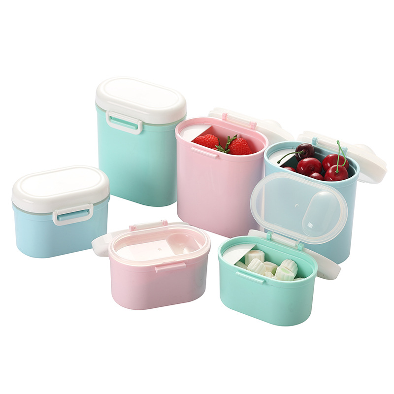 Baby Clothes Milk Box Portable Nursing Large-Volume Baby Packing Storage Tank Mini Small Sealed Milk Cans