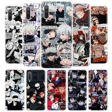 Jujutsu Kaisen Anime Manga okładka etui na telefony dla Xiaomi Redmi uwaga 9S 10 9 8 8T 7 6 Pro 6A 7A 8A 9A Mi CC9 A3 Lite Pro CC9 F1 Coq