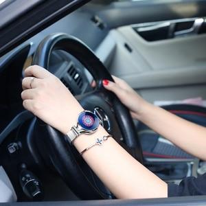 Image 4 - Mode Frauen Smart Uhr Wasserdicht Herz Rate Blutdruck Monitor Smartwatch Geschenk Für Damen Uhr Armband