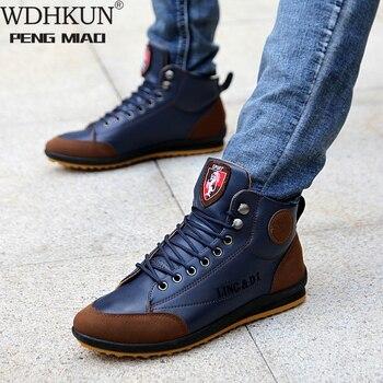 Мужские ботинки, обувь для весны и осени и зимы, большие размеры B, ботинки, мужские кожаные ботинки, кроссовки, ботинки, мужская обувь