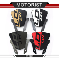 Motorcycle Aluminum Motorbike Windshield Windscreen For Yamaha MT07 MT 07 2013 2014 2015 red grey gold white colors Windscreen