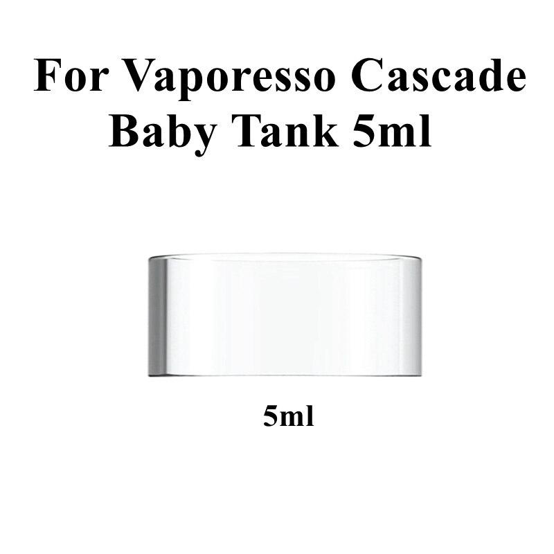 Hongxingjia Original Replacement Glass Tube For Vaporesso Cascade Baby Tank 5ML Atomizer Pyrex Glass Tank