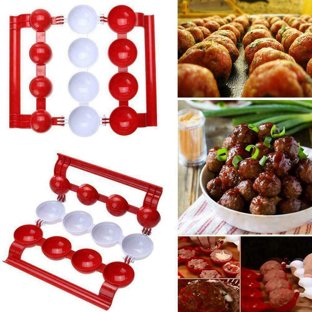 Meatball Maker Homemade Stuffed Meatball Fish Ball Goods The ABS Food-grade Maker New Supplies Burger Products Mold For Kit