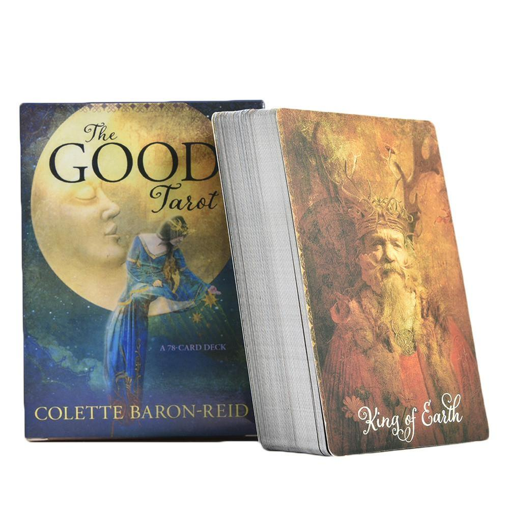 78Pcs/pack The Good Tarot Cards Deck English Oracle Cards Game Board Colette Baron-Reid Card Deck & Book