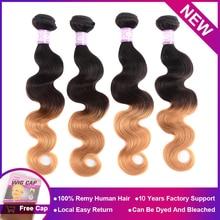 BINF Ombre Body Hair Weave Bundles 8