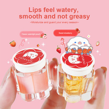 2 Colors Gold Foil Lip Mask Repair Lip Color Fade Lip Wrinkles Long Lasting Moisturizing Repair Anti-chapped Lip Balm TSLM1
