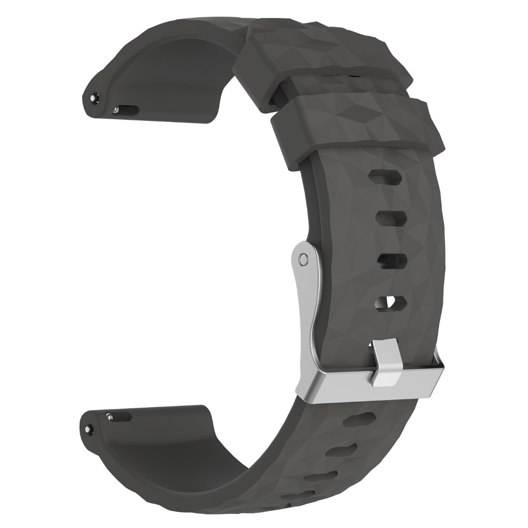 Sports Silicone Replacement Band Strap For Suunto Spartan Sport Wrist HR Baro Watchbands Classic Steel Pin Buckle Watch Strap