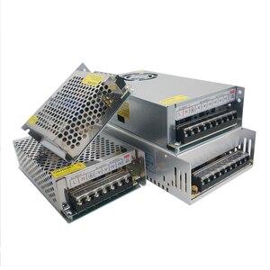 AC DC 3 в 9 в 15 в 18 в источник питания 3A 5A 10A трансформаторы 220 В до 3 в 9 в 15 в 18 в блок питания 220 В до 12 в светодиодный ленточный светильник