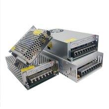 Ac dc 3v 9v 15v 18v fonte de alimentação 3a 5a 10a transformadores 220v a 3v 9v 15v 18v fonte de alimentação adaptador 220v a 12v led fita lâmpada