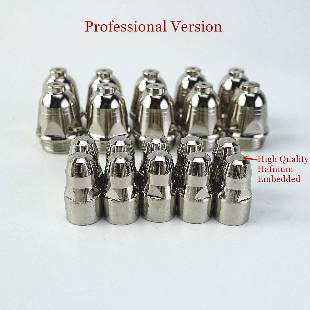 20pcs P80 Plasma Cutting Torch Consumable Cutting 60A 80A 100A P80 CNC Plasma Torch Tip Electrode Nozzle