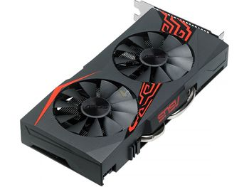 USED,ASUS  RX 570 4G graphics cards 7000MHz GDDR5 256bits HDMI+DP  PCI-X16 1