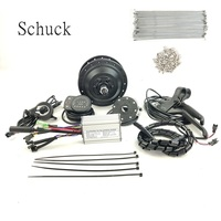 Schuck frente sem motor da roda kit de conversão bicicleta elétrica 36v350w ktled900s display bicicleta elétrica acessórios|Kit de conversão| |  -