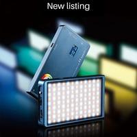 F7 Pocket RGB Full Color Photography Lighting Vlog LED Video Light Dimmable Video Studio Light On DSLR Cameras