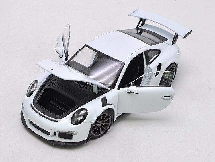 Welly 1/24 1:24 2016 Porsche 911 GT3 RS Sport voiture de course véhicule moulé sous pression modèle d'affichage anniversaire enfants jouet pour enfant garçons filles - 3