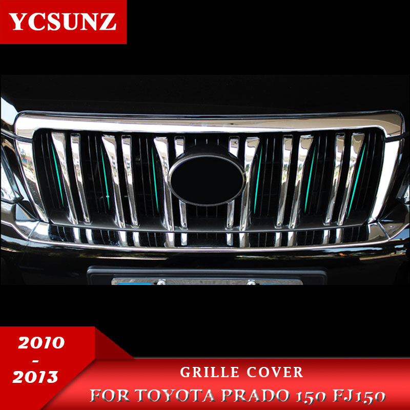 ABS króm burkolat a Toyota Land Cruiser Prado Fj150 LC150 2010 2011 - Autóalkatrész