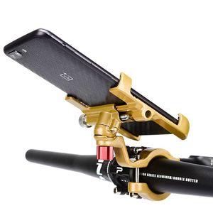 Image 5 - Aluminum Aluminum Alloy Motorcycle Holder 360 Degree Rotatable Handlebar Bike Bicycle Phone Mount GPS Stand for iPhone Samsung