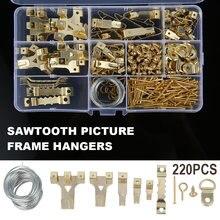 230 шт настенные крючки для картины с винтами