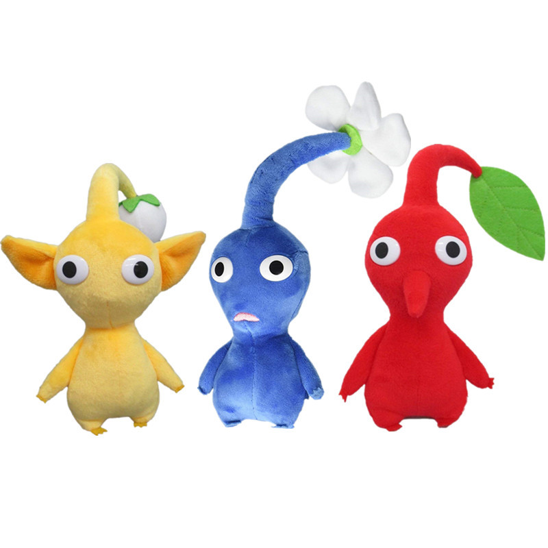20cm Pikmin Plush Doll Toys Home Decoration Doll Cartoon Stuffed Flowers Peluche Doll Toys For Children Brithday Christmas Gifts