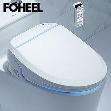 Foheel Slimme Toiletbril Elektrische Bidet Cover Intelligente Bidet Warmte Schoon Droog Massage Intelligente Toiletzitting