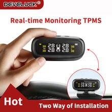 Солнечный tpms автомобильный датчик давления в шинах Система