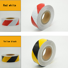 Stickers Reflective-Film Warning-Tape Mark Self-Adhesive Safety Automobiles Motorcycle