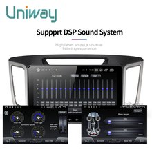 Uniway android 9.0 car dvd for Hyundai creta ix25 2014 2015 2016 car radio player gps navigation car stereo video audio player(China)