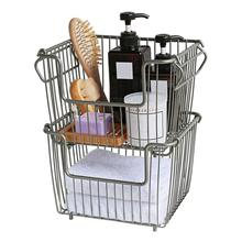 Wrought Iron Food Storage Organizer Storage Basket With Open Front For Home Dormitory Kitchen Finishing Double Shelf коллектив авторов food facts for the kitchen front
