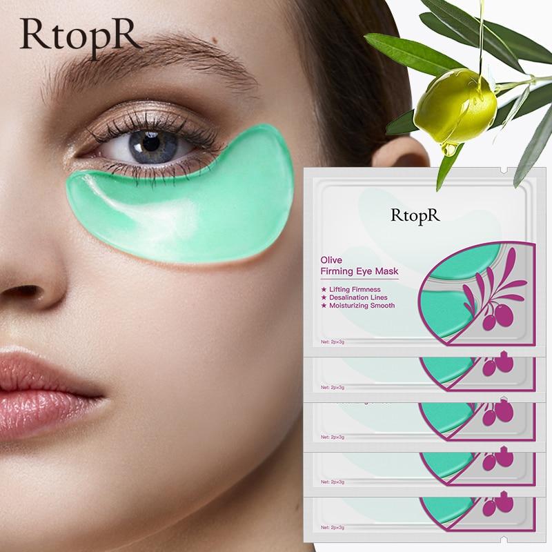 5 упаковок, оливковая коллагеновая маска для глаз, уход за кожей лица, устранение темных кругов, укрепляющих антивозрастной мешок для глаз, темные круги, Уход за глазами|Средства для ухода и маски|   | АлиЭкспресс