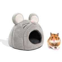 1PC Hamster Cages Life Nest Spring Little Pet Canvas Hammock Hedgehog Chinchilla Guinea Pig Hanging House Small Animal Products