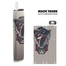цена на Magic Shark Eagle Case Skull Sticker For IQOS 3 Multi E Cigarette For IQOS3 Case Cover E Cigarette Sticker Film
