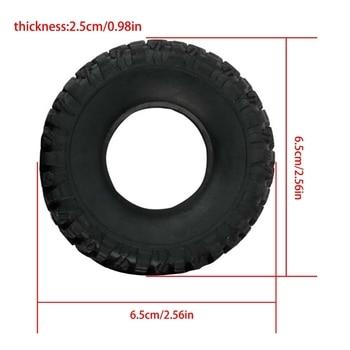 4pcs Upgrade Tires for WPL B-1 B-14 B-24 B24 C14 C-14 1/16 RC Car Spare Parts M89C