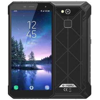 IP68 Waterproof NOMU S50 PRO 4G Smartphone 5.72'' Android 8.1 MTK6763 Octa-core 1.5GHz 4GB 64GB 16.0MP 5000mAh Type-C Cellphones